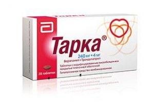 Tarka 180mg/2mg modifikuoto atpalaidavimo tabletės N28